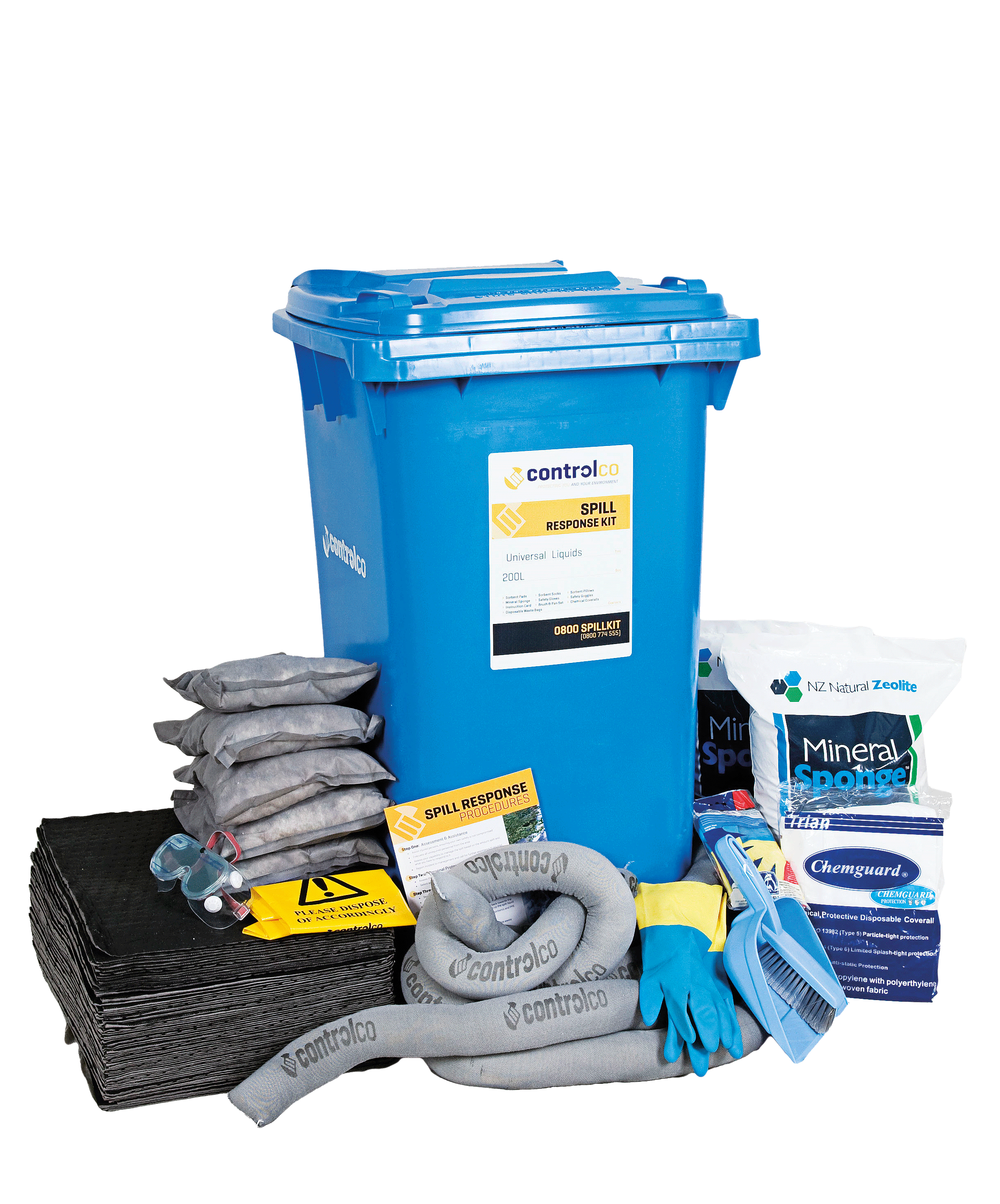 Mobile Spill Kit - Universal - 100L product image