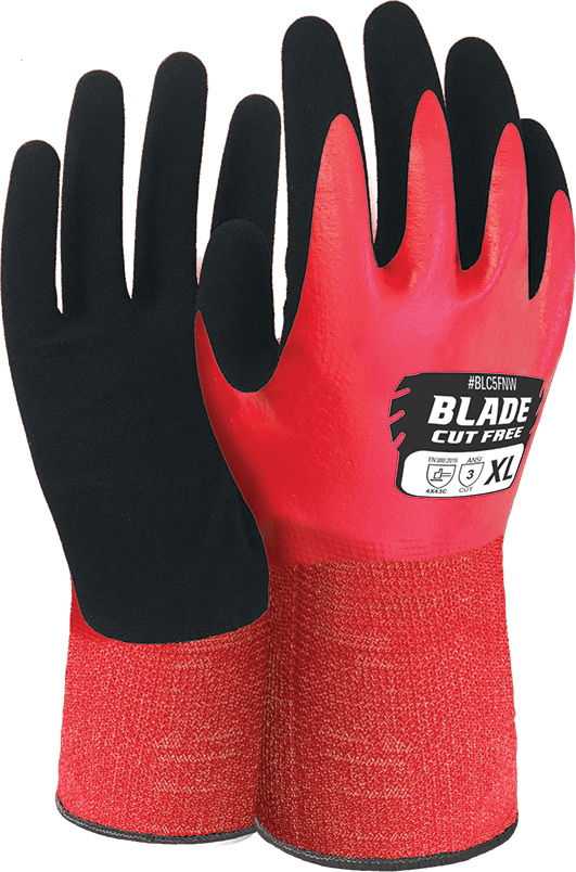 BLADE Nitrile Cut 5 Liquid Proof Glove product image