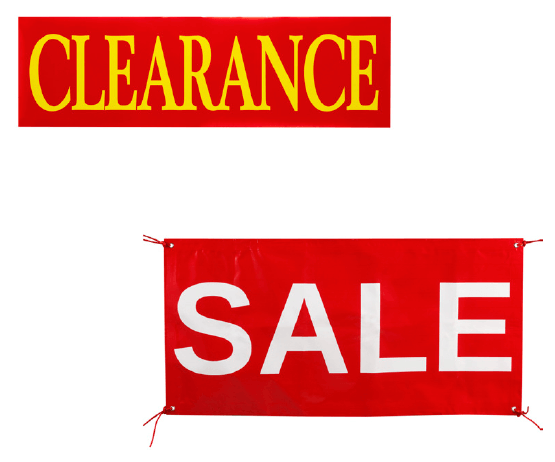Clearance Banner product image