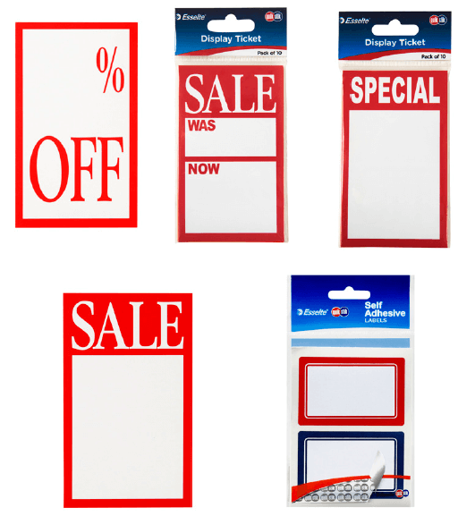 Retail Display Tickets product image