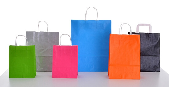 Coloured Paper bags product image